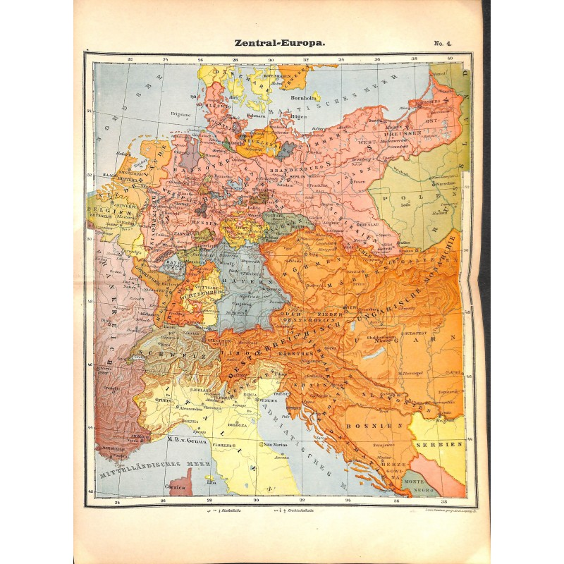 Map Of Germany To Print.Print German History Book