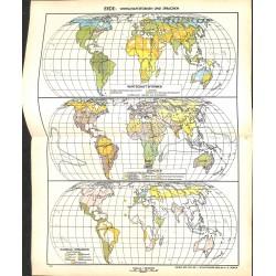 1706 map/print-EART ECONOMY printed: 1954