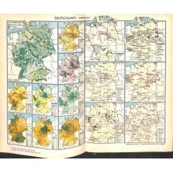 1718 map/print-GERMANY printed: 1954