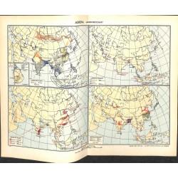 1768 map/print-ASIA AGRAR CULTURE printed: 1954