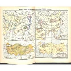 1769 map/print-ASIA TURKEY ANIMAL PRODUCTION printed: 1954