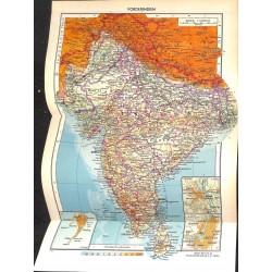 1774 map/print-INDIA KASHMIR printed: 1954