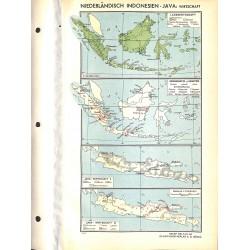 1784 map/print-NETHERLAND INDONESIA printed: 1954