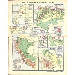 1822 map/print-NORTH ANDEN GUAYANA ECONOMY printed: 1954