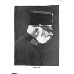 "1905 WWI print 1914/18-Austrian Kaiser franz Joseph I. ,size:23,5 x 32,5 cm-this print comes from the austrian book ""Die g"