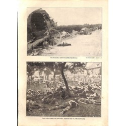"""1914 WWI print 1914/18-infantry photos,size:23,5 x 32,5 cm-this print comes from the austrian book """"Die grosse Zeit""""Grea"""