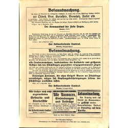 """1917 WWI print 1914/18-Order Announcement,size:23,5 x 32,5 cm-this print comes from the austrian book """"Die grosse Zeit""""G"""