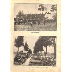 """1934 WWI print 1914/18-soldiers german troops photos,size:23,5 x 32,5 cm-this print comes from the austrian book """"Die gros"""