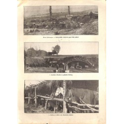 """1939 WWI print 1914/18-covered Austrian troops photos,size:23,5 x 32,5 cm-this print comes from the austrian book """"Die gro"""