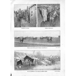 """1998 WWI print 1914/18-trenches soldiers photos,size:23,5 x 32,5 cm-this print comes from the austrian book """"Die grosse Ze"""