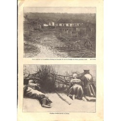 "1999	 WWI print 1914/18-	english Machine Gun village	,size:	23,5 x 32,5 cm	-	this print comes from the austrian book ""Die grosse"