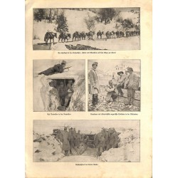 """2002 WWI print 1914/18-Austro Hungarian Soldiers,size:23,5 x 32,5 cm-this print comes from the austrian book """"Die grosse Z"""