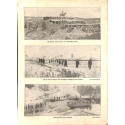 "2003	 WWI print 1914/18-	soldiers East Prussia photos	,size:	23,5 x 32,5 cm	-	this print comes from the austrian book ""Die gross"