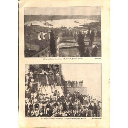 """2004 WWI print 1914/18-Cruiser Breslau Hamideh  Goeben,size:23,5 x 32,5 cm-this print comes from the austrian book """"Die gr"""