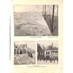 """2008 WWI print 1914/18-battlefields photos,size:23,5 x 32,5 cm-this print comes from the austrian book """"Die grosse Zeit"""""""