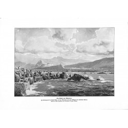 2016	 WWI print 1914/18-	Phaleron Athen Akropolis Piräus Greece by Zeno Diemer	,size:	23,5 x 32,5 cm		,this print comes from the
