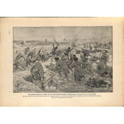2019	 WWI print 1914/18-	Russia against austro-hungarian soldiers Toporoutz 1916	,size:	23,5 x 32,5 cm	, printed on normal paper