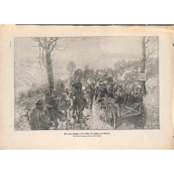2028 WWI print 1914/18-Flabas Verdun France german soldiers,size:23,5 x 32,5 cm, printed on normal paper-,this print comes