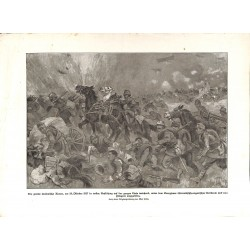 2047 WWI print 1914/18-Austro-hungarian troops Italy 1917 drawing Max Tilke,size:23,5 x 32,5 cm,this print comes from the