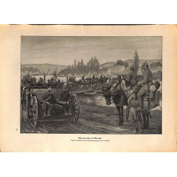 2067 WWI print 1914/18-Meurthe german soldiers,size:23,5 x 32,5 cm, printed on normal paper-,this print comes from the ger