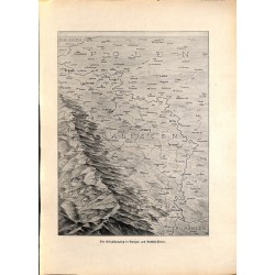 2068 WWI print 1914/18-Map Galizien Russia-Poland,size:23,5 x 32,5 cm, printed on normal paper-,this print comes from the