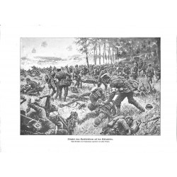 """2070 WWI print 1914/18-German medics wounded soldiers,size:23,5 x 32,5 cm,this print comes from the german book """"Illustrie"""