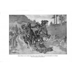 2078	 WWI print 1914/18-	Leutnant Mayer Vogese France first fallen soldier	,size:	23,5 x 32,5 cm		,this print comes from the ger