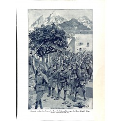 2109 WWI print 1914/18-austro-hungarian soldeirs Asiago,size:23,5 x 32,5 cm, printed on normal paper-,this print comes fro
