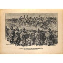 2117 WWI print 1914/18-Verdun Heigth 304 France Turks german soldiers Verdun,size:23,5 x 32,5 cm, printed on normal paper-
