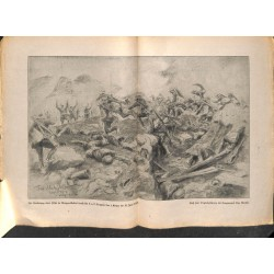 2137	 WWI print 1914/18-	Grappa german soldiers frnch bodies drawing by Matjeko 	,size:	23,5 x 32,5 cm	poor condition,	,this pri