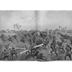 2150	 WWI print 1914/18-	Ypern german soldiers Bixchote-Langemarck-Poelkapelle 1915	,size:	47 x 32,5 cm	, printed on normal pape