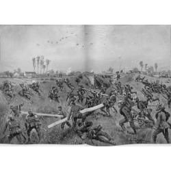 2150 WWI print 1914/18-Ypern german soldiers Bixchote-Langemarck-Poelkapelle 1915,size:47 x 32,5 cm, printed on normal pape