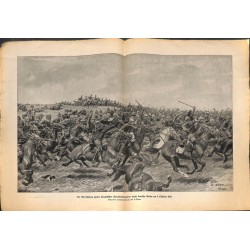 2152 WWI print 1914/18-German Cavalry 1914,size:23,5 x 32,5 cm, printed on normal paper-,this print comes from the german
