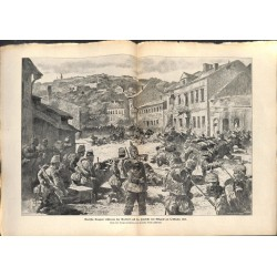 2153 WWI print 1914/18-Belgrad 1915 German soldiers,size:47 x 32,5 cm, printed on normal paper-,this print comes from the