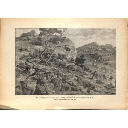 2155 WWI print 1914/18-Avtovac Montenegro Bobija KuK soldiers,size:23,5 x 32,5 cm, printed on normal paper-,this print com