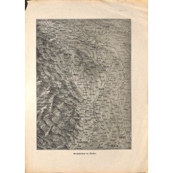 2160	 WWI print 1914/18-	map Moldau Eastern front	,size:	23,5 x 32,5 cm	, printed on normal paper-	,this print comes from the ge