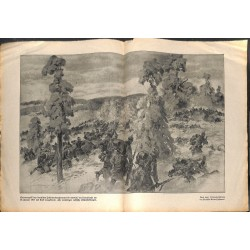 2161 WWI print 1914/18-Ditostreet german attack 1917 ,size:47 x 32,5 cm, printed on normal paper-,this print comes from th