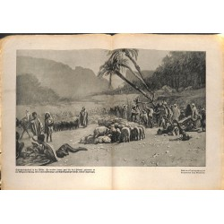 2163	 WWI print 1914/18-	Arabia animal market desert 	,size:	23,5 x 32,5 cm	, printed on normal paper-	,this print comes from th