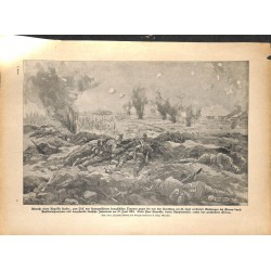 2171 WWI print 1914/18-Fleury Fort Souville Kuk soldiers,size:23,5 x 32,5 cm, printed on normal paper-,this print comes fr