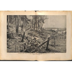 2175 WWI print 1914/18-Miadziolsee June 1916 russian trench german attack,size:23,5 x 32,5 cm, printed on normal paper-,th