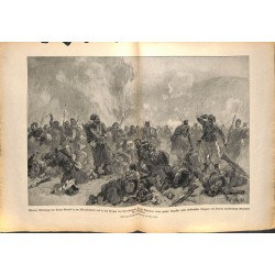 2181 WWI print 1914/18-Trnova Sarrail Army Cernabow,size:47 x 32,5 cm, printed on normal paper-,this print comes from the