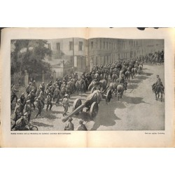 2186 WWI print 1914/18-Russian troops soldiers romanian front,size:47 x 32,5 cm, printed on normal paper-,this print comes