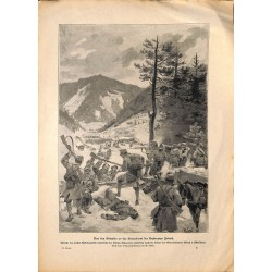 2189 WWI print 1914/18-Herzog Duke Joseph batlefield,size:23,5 x 32,5 cm, printed on normal paper-,this print comes from t