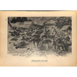 2192 WWI print 1914/18-Kase i Schirin russian soldiers ,size:47 x 32,5 cm, printed on normal paper-,this print comes from
