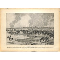 2202	 WWI print 1914/18-	Crossing river Bug german soldiers	,size:	23,5 x 32,5 cm	, printed on normal paper-	,this print comes f