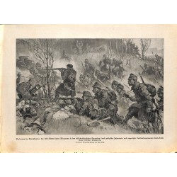 2205 WWI print 1914/18-Magyaros Karpath Kuk soldiers,size:23,5 x 32,5 cm, printed on normal paper-,this print comes from t
