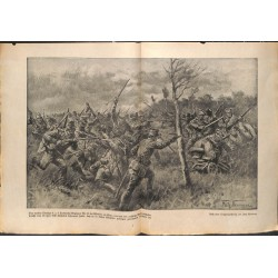 2211 WWI print 1914/18-Werbe Styr  austro-hungarian soldiers russian army fights ,size:23,5 x 32,5 cm, printed on normal pa