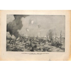 2215	 WWI print 1914/18-	Litovia russian sodliers battlefield	,size:	23,5 x 32,5 cm	, printed on normal paper-	,this print comes