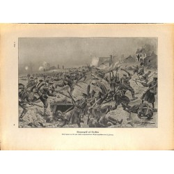 2216 WWI print 1914/18-Saint Eloi german soldiers battlefield,size:47 x 32,5 cm, printed on normal paper-,this print comes