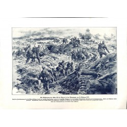 2251	 WWI print 1914/18-	Ripont Height 185 February 1917 german soldiers	,size:	23,5 x 32,5 cm		,this print comes from the germa